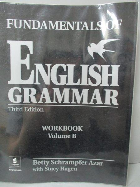 【書寶二手書T5/語言學習_ZBT】Fundamentals of English Grammar: Workbook