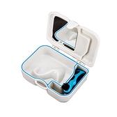 牙套盒 帶鏡帶刷假牙盒便攜儲牙盒隱適美矯正器盒保持器盒老人牙套浸泡盒