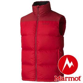 Marmot Guides Down Vest 男羽絨背心 紅 73110 保暖背心
