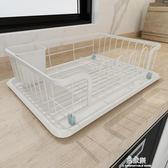 碗碟架廚房用品瀝水架置物架子濾水收納籃盒放碗盤筷杯餐具收納架YYS    易家樂