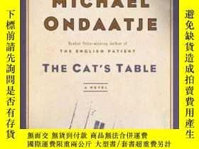 二手書博民逛書店The罕見Cat s Table-貓的桌子Y436638 Michael Ondaatje Mcclellan