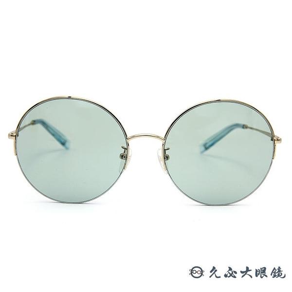 VEDI VERO 韓國墨鏡 VE863 (金) 半框 圓框 太陽眼鏡  久必大眼鏡