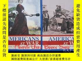 二手書博民逛書店Americans罕見at War: Society, Culture, and the Homefront(4