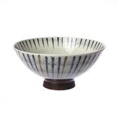日本製陶瓷毛料飯碗14cm 十草