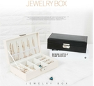 【SG368】韓版純色珠寶首飾盒 戒指耳釘項鍊多功能飾品收納盒