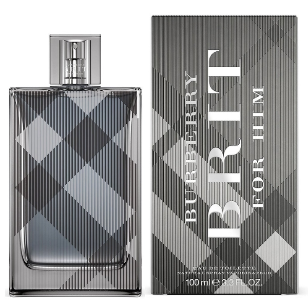 Burberry Brit For Him 風格 男性淡香水 100ml◐香水綁馬尾◐