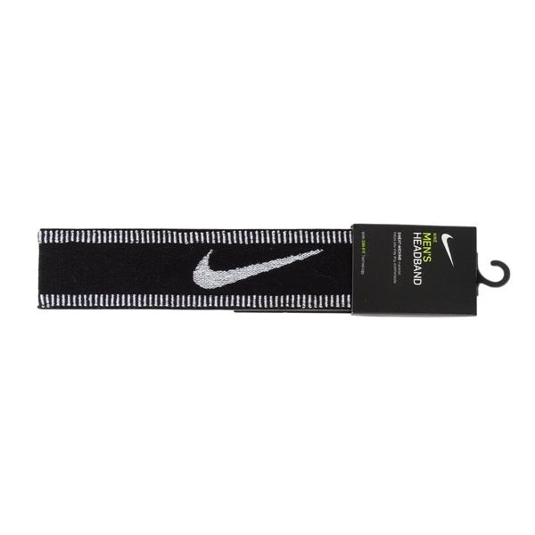 Nike Mens Sport [N1001612010OS] 頭帶 運動 休閒 吸濕 排汗 乾爽 雙面 黑