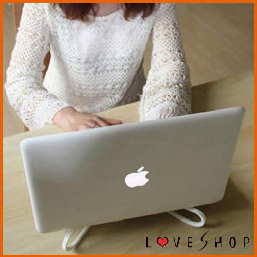 【Love Shop】攜帶式交叉型筆記型電腦散熱架/散熱墊/非筆電散散熱風扇(不挑色)