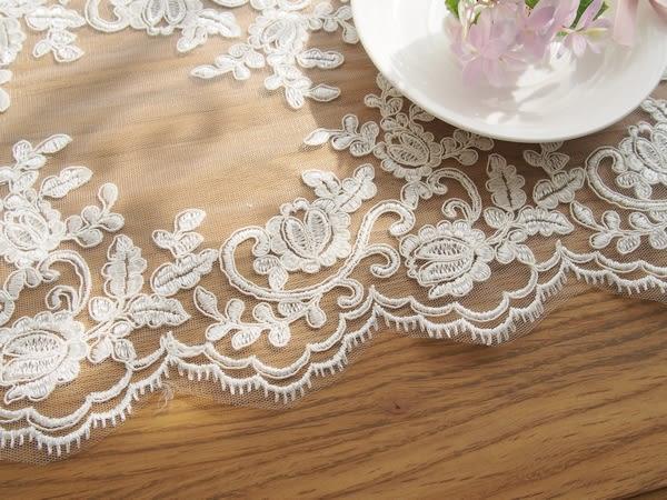 時尚可愛空間餐桌布 茶几布 隔熱墊 鍋墊 杯墊 餐桌巾581 (22*50cm)