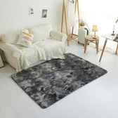 北歐客廳墊子床邊毯大面積長毛地毯臥室毛毯地墊滿鋪可愛ins圓形 全館免運快速出貨