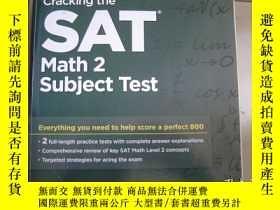 二手書博民逛書店SAT罕見Math 2 Subject TestY9890