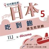 IIJ官方訊號5天日本網卡,採用docomo訊號,北海道、沖繩皆覆蓋 (期限2020/12/30)
