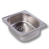 不鏽鋼水槽面板[長40cm]【JL精品工坊】洗衣槽 洗手台 洗手槽 不鏽鋼水槽