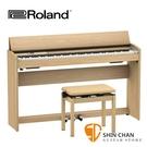 【預購】Roland F701 電鋼琴 88鍵 / 掀蓋式 淺橡木色 F701 附原廠琴架 踏板 淺色琴椅 台灣樂蘭公司貨