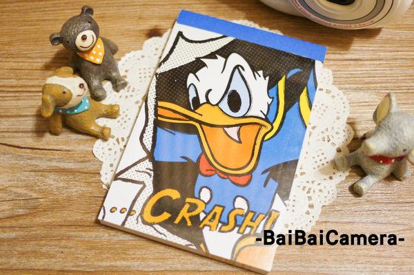baibaicamera 唐老鴨 crash 迪士尼 便條紙 拍立得記事本另售 拍立得底片 / mini25 mini8 mini90