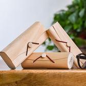 眼鏡盒 女日韓風小清新復古簡約優雅個性創意便攜眼睛盒子 森雅誠品