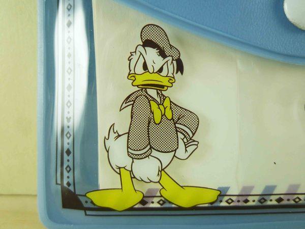 【震撼精品百貨】Donald_唐老鴨~小卡附夾-藍
