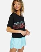 Hurley W SIG ZANE CROP PKT CREW SS BLACK T恤-(黑)