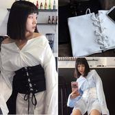 皮帶 簡約塑身韓版瘦腰封裝飾
