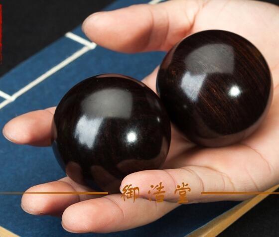 手球健身球黃花梨紫檀木文玩手球
