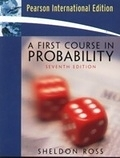 二手書博民逛書店《A First Course in Probability (