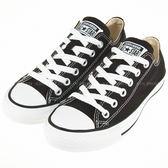 CONVERSE~All Start-基本款 黑色帆布鞋(M9166C)
