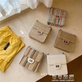 斜背包極簡主義包包女新款編織小香鏈條包單肩斜背珍珠小方包手機包 交換禮物