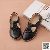 春秋女童單鞋韓版公主皮鞋學生牛皮舞蹈鞋女孩新款童鞋子 一件免運