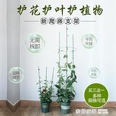 爬藤架子花支架室內花卉植物支撐桿月季花架家用護葉架綠植攀爬架 全館免運