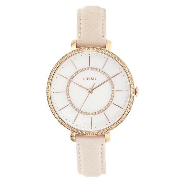 FOSSIL 手錶專賣店 ES4455 晶鑽石英女錶 防水30米 錶面雙圈鑲嵌晶鑽 全新 保固一年 開發票
