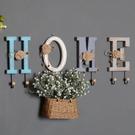 北歐風字母挂鈎牆面裝飾品鑰匙挂衣鈎客廳牆上創意挂衣架玄關挂件