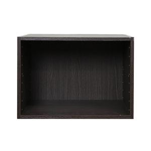 樂嫚妮 收納空櫃-2入組-深胡桃木色