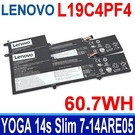 LENOVO L19C4PF4 原廠電池 L19M4PF4 L19D4PF4 SB10W65282 SB10W65284 5B10W65276 SB10W65291 Yoga 14s Slim 7-14ARE05 (82A20008GE)