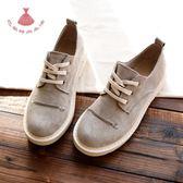 馬丁鞋女學院風英倫學生正韓百搭女鞋單鞋平底低筒鞋 巴黎时尚生活