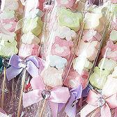 婚禮小物 小熊花園棉花糖X100支-送客禮/姊妹禮/伴娘禮/活動禮/送客禮/批發 幸福朵朵