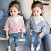 女童裝襯衣2018新品女寶寶襯衫嬰兒童韓製春秋上衣1-2-3-4歲0