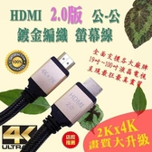 [富廉網] HD-87 1.5M HDMI 2.0 公-公 4K 60Hz 鍍金接頭 超清 螢幕線