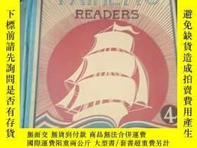 二手書博民逛書店日本出版英文書罕見The taiheiyo readers 4Y