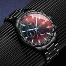 2019新款手錶男士全自動機械錶潮流運動學生石英電子霸氣男錶瑞士 浪漫西街