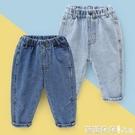 男童寬鬆牛仔褲春裝春秋童裝1歲小童3兒童寶寶長褲子春款U11924-Ballet朵朵