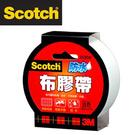 3M 2036W Scotch強力防水布膠帶36 mm x15y(白色) / 個