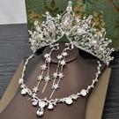 皇冠女十八歲頭飾新娘頭紗大氣
