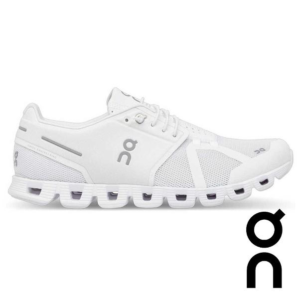 【瑞士 ON】女 Cloud輕量雲 跑鞋『香檳白』19.0005 多功能鞋.低筒.野跑鞋 越野鞋 慢跑鞋 馬拉松