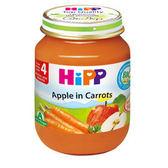 HiPP喜寶 有機蘋果胡蘿蔔泥125g