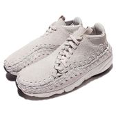 【五折特賣】Nike 編織鞋 Air Footscape Woven Chukka QS 灰 米白 側綁鞋帶 男鞋【PUMP306】 913929-002