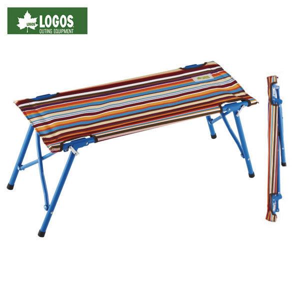 [好也戶外] LOGOS 條紋雙人長凳 No.73176003