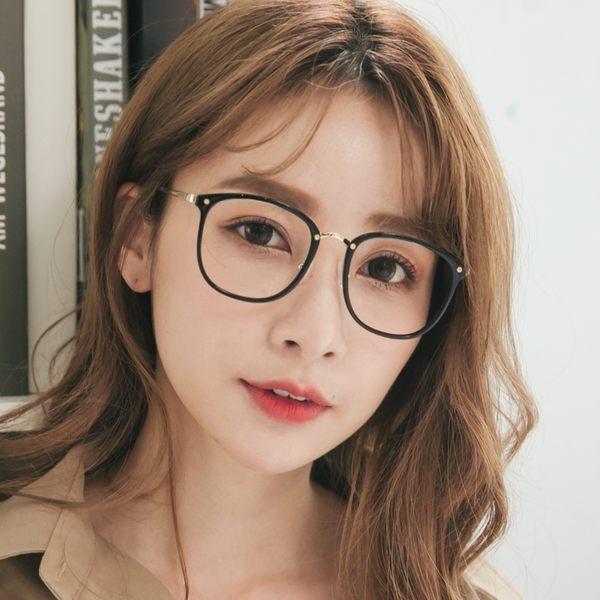 時尚流行黑方框濾藍光眼鏡