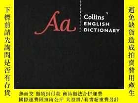 二手書博民逛書店Collins罕見English Dictionary (twe