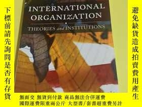 二手書博民逛書店International罕見organization:Theo