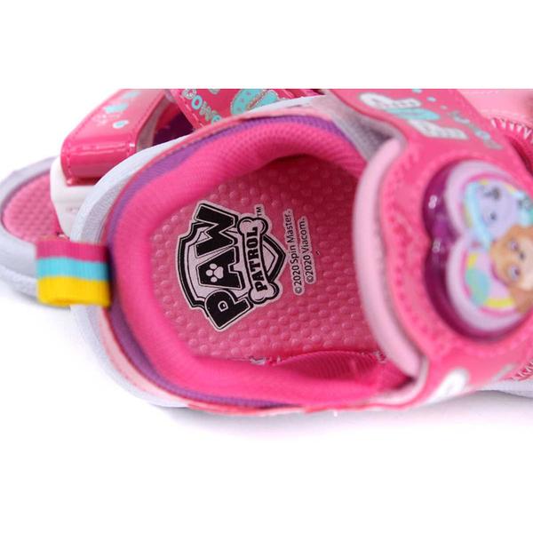 小狗汪汪隊 PAW PATROL 涼鞋 電燈鞋 粉紅色 中童 童鞋 D203801-160 no046 15~20cm